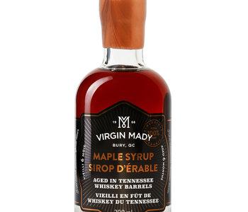 Sirop d'érable vieilli en fût de whiskey du Tennessee  200 ml âge 6 mois