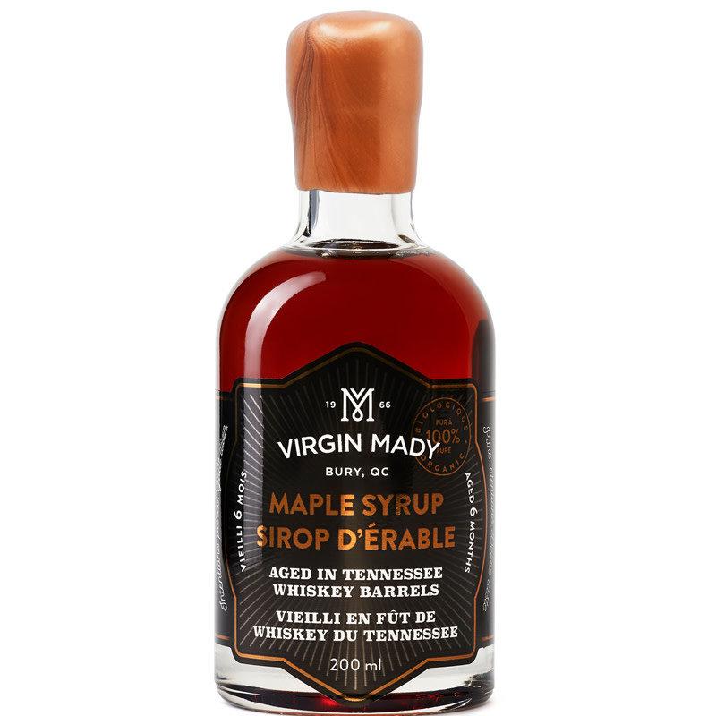 Virgin Mady Sirop d'érable vieilli en fût de whiskey du Tennessee  200 ml âge 6 mois