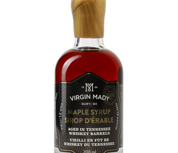 Sirop d'érable vieilli en fût de whiskey du Tennessee  200 ml âge 12 mois