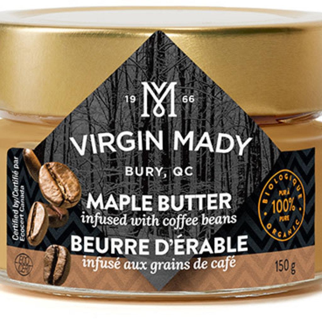 Virgin Mady Beurre d'érable infusé aux grains de café