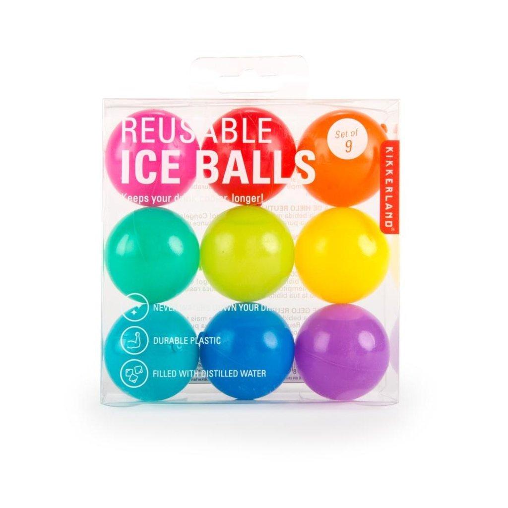 Kikkerland Balles de refroidissement réutilisables