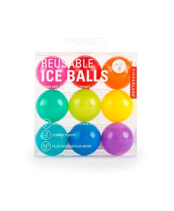 Balles de refroidissement réutilisables