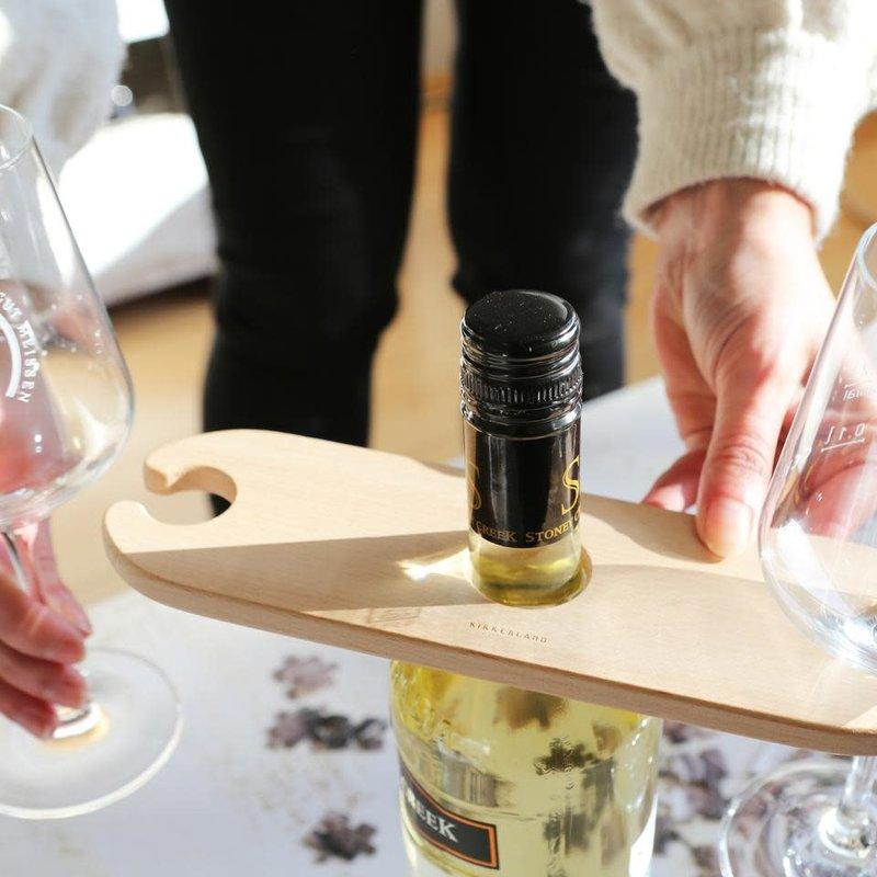 Kikkerland Support de bouteille à une main