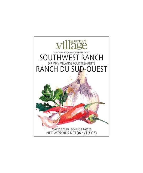 Mélange pour Trempette Ranch Du Sud Gourmet du Village (36gr)