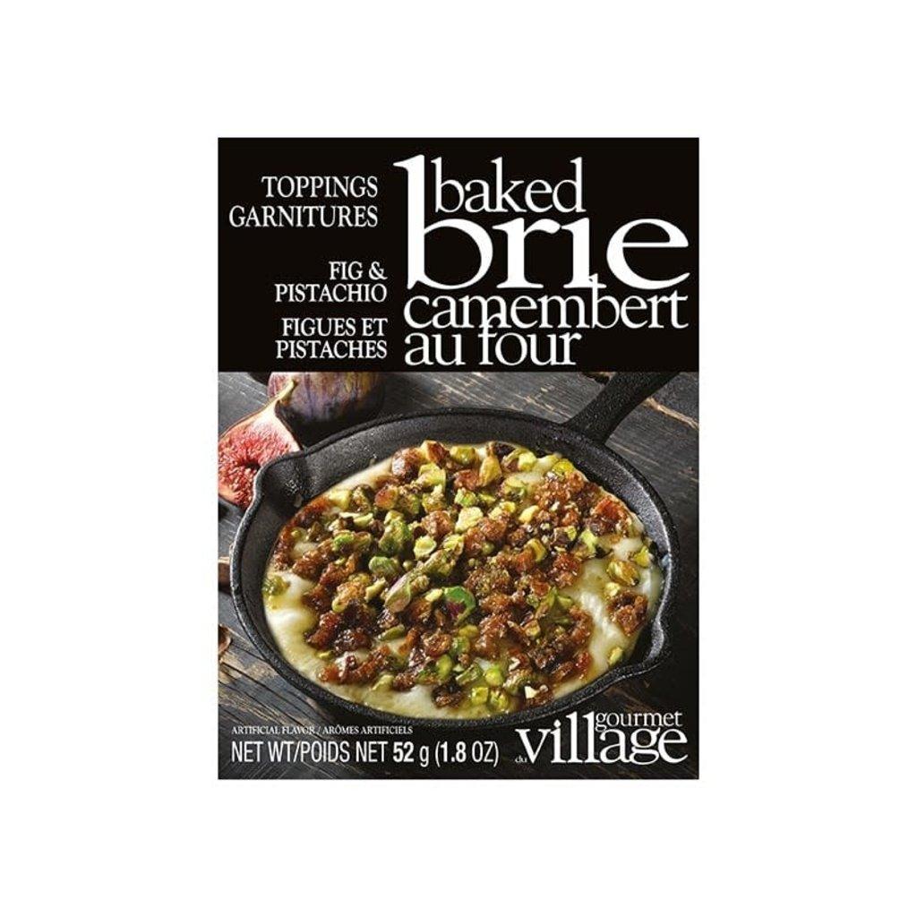Gourmet du Village Garnitures pour brie au four Figues et Pistache   Gourmet du Village