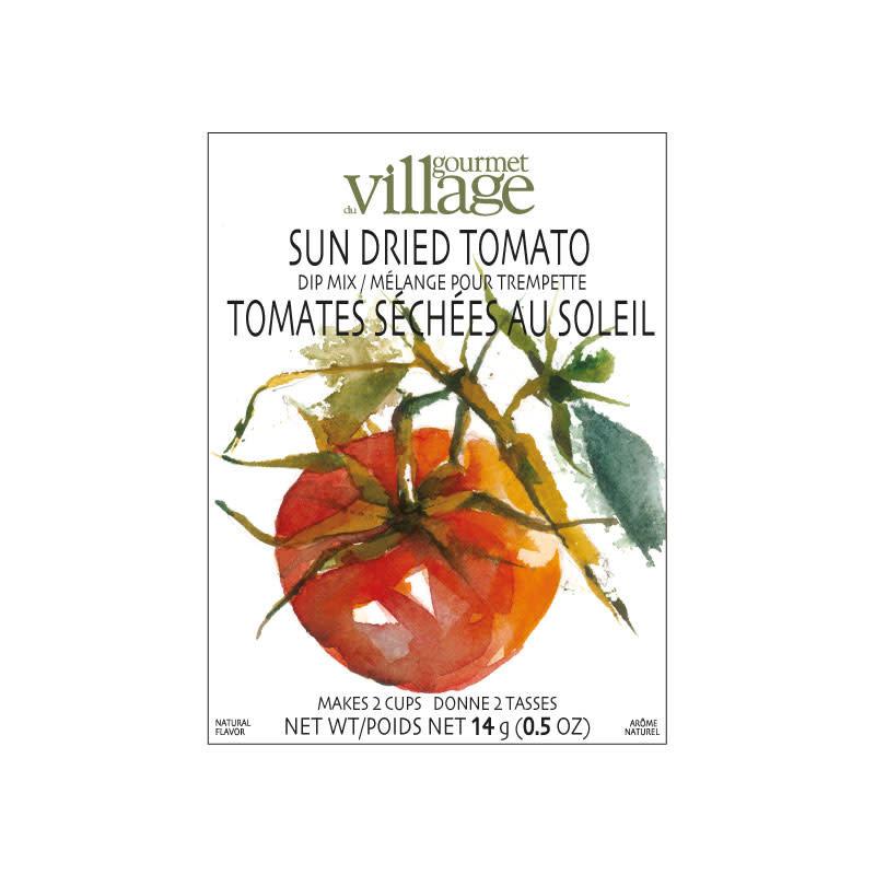 Gourmet du Village Mélange pour Trempette Tomates séchées au soleil Gourmet du Village (18gr)