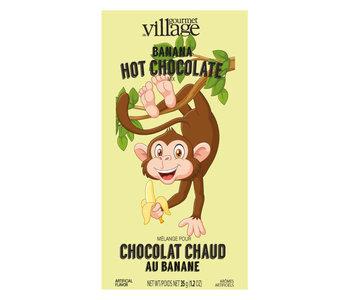 Chocolat Chaud au banane Gourmet du Village