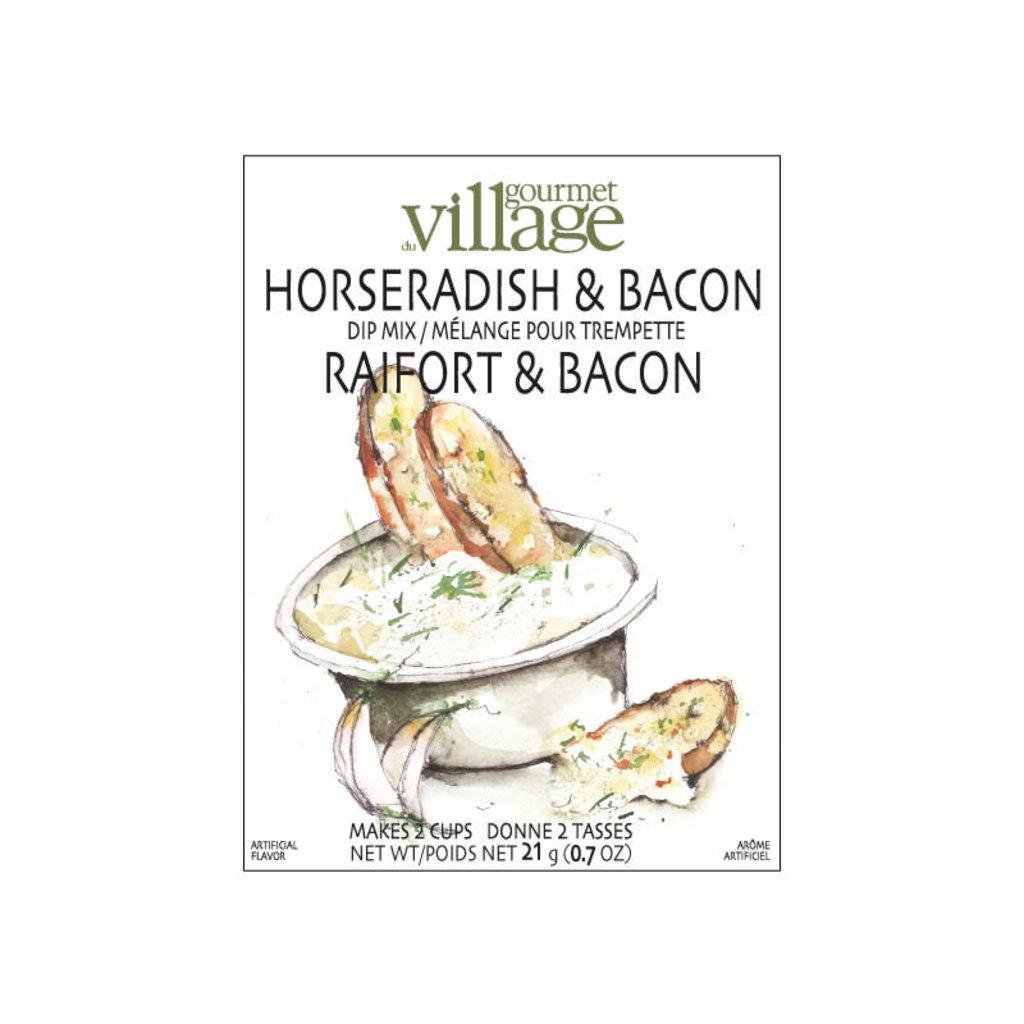 Gourmet du Village Mélange pour Trempette Raifort & Bacon Gourmet du Village (18gr)