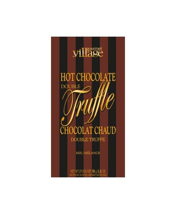 Chocolat Chaud  Double Truffe brun Gourmet du Village