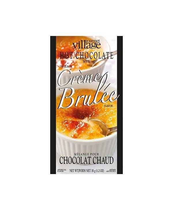 Chocolat Chaud Crème brûlée  Gourmet du Village