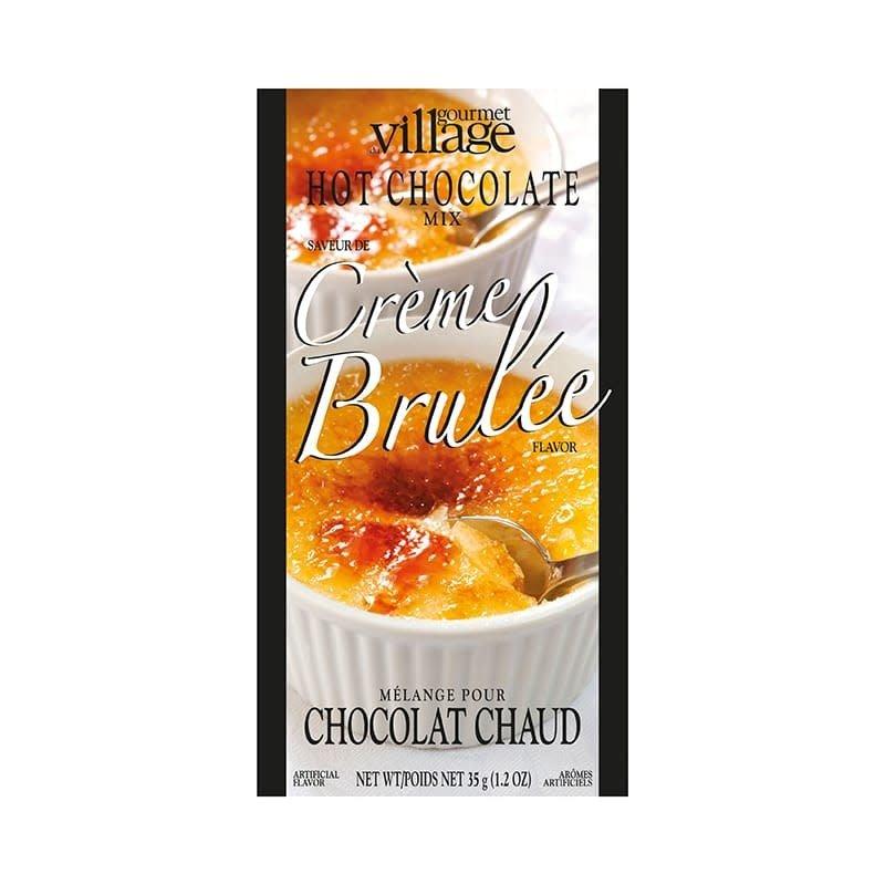 Gourmet du Village Chocolat Chaud Crème brûlée  Gourmet du Village