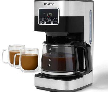 Cafetière programmable 10 tasses Ricardo