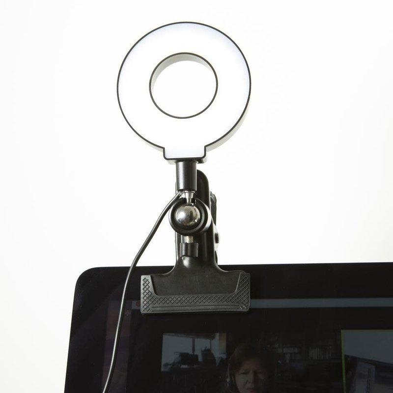 Kikkerland Selfie Anneau Lumineux