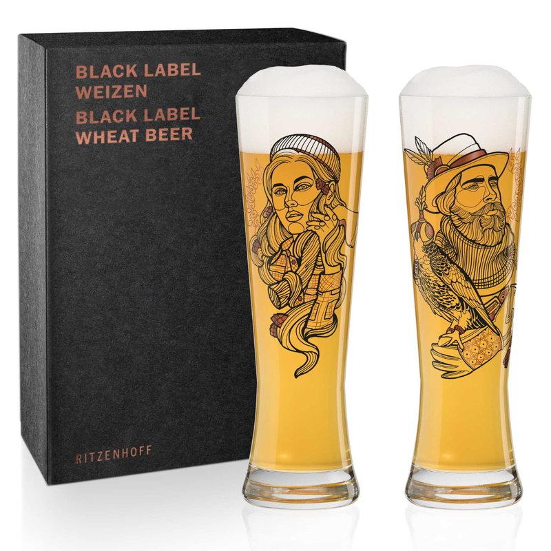 Ritzenhoff Verre à bière Ritzenhoff ens. de 2 falconer& lumberjack