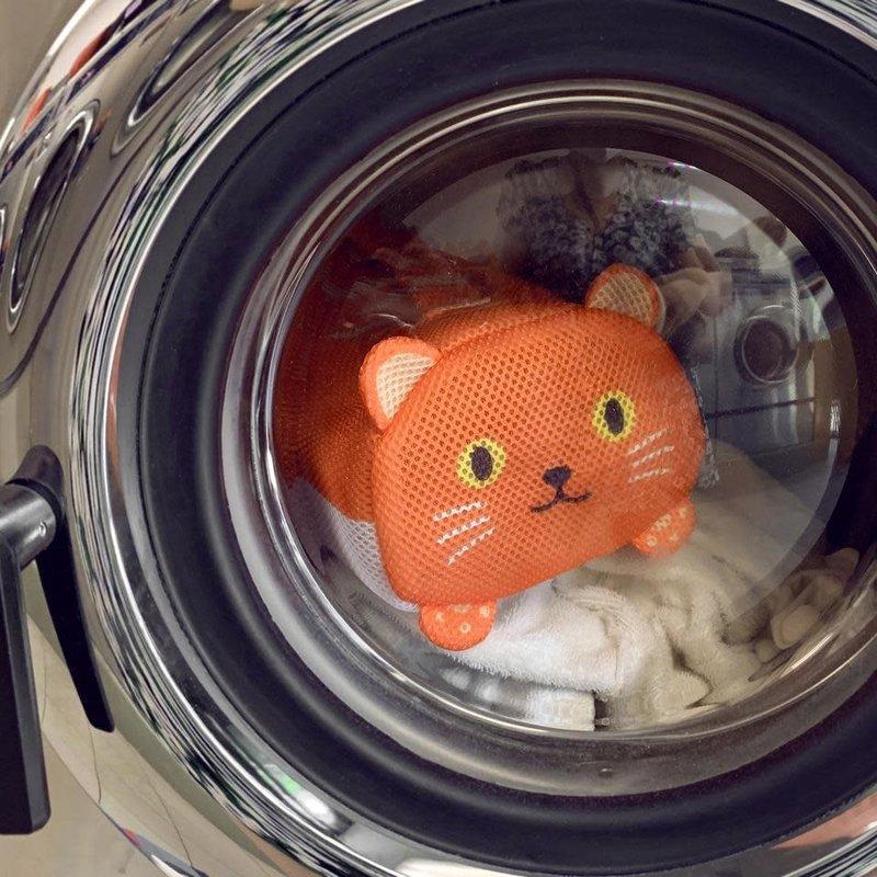 Kikkerland Sac à linge handy cat
