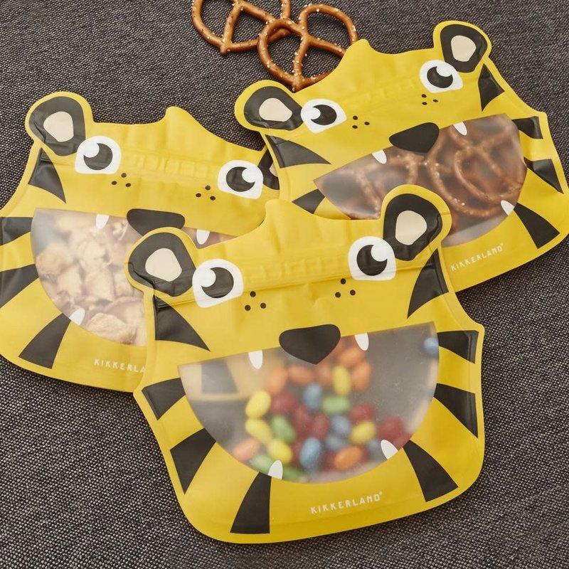 Kikkerland Sac réutilisable tigre