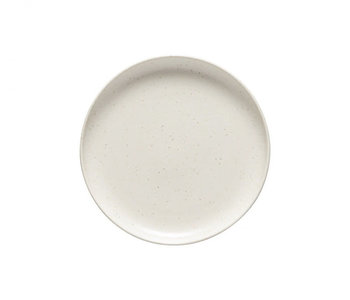 Assiette à salade Pacifica vanille