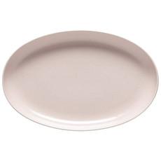 Assiette de service oval Pacifica Marshmallow