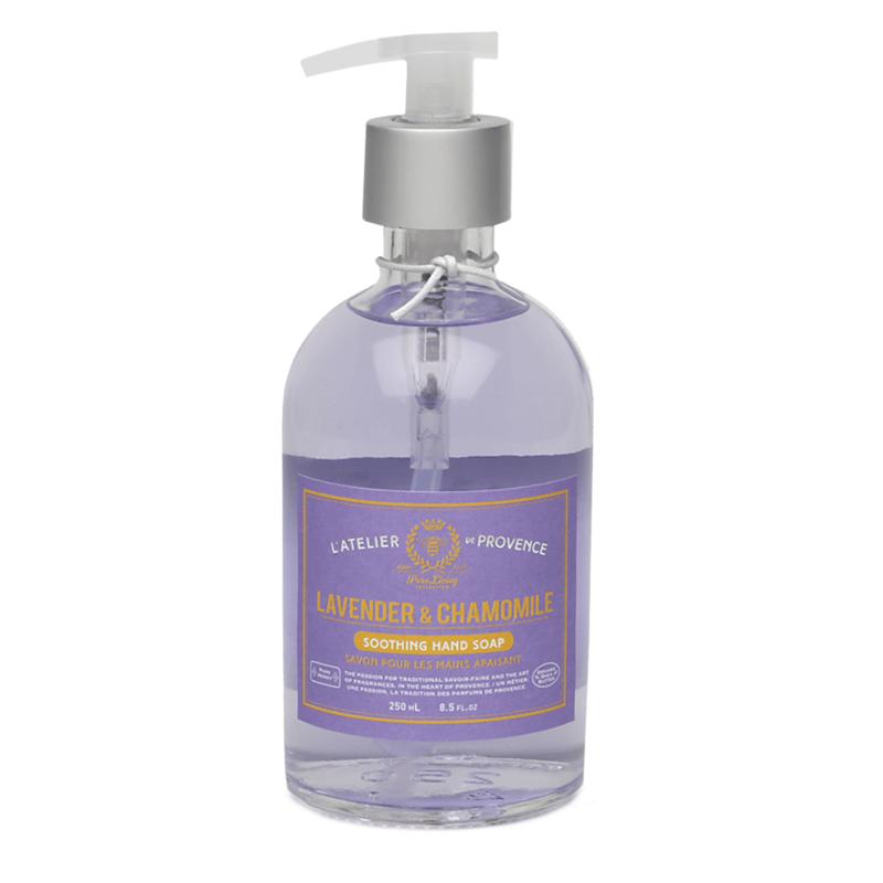 Atelier de Provence Savon en pompe pour les mains 250 ml  Lavande & Camomille