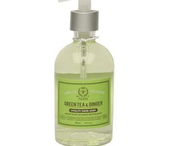 Savon en pompe pour les mains 250 ml  Thé Vert & Gingembre
