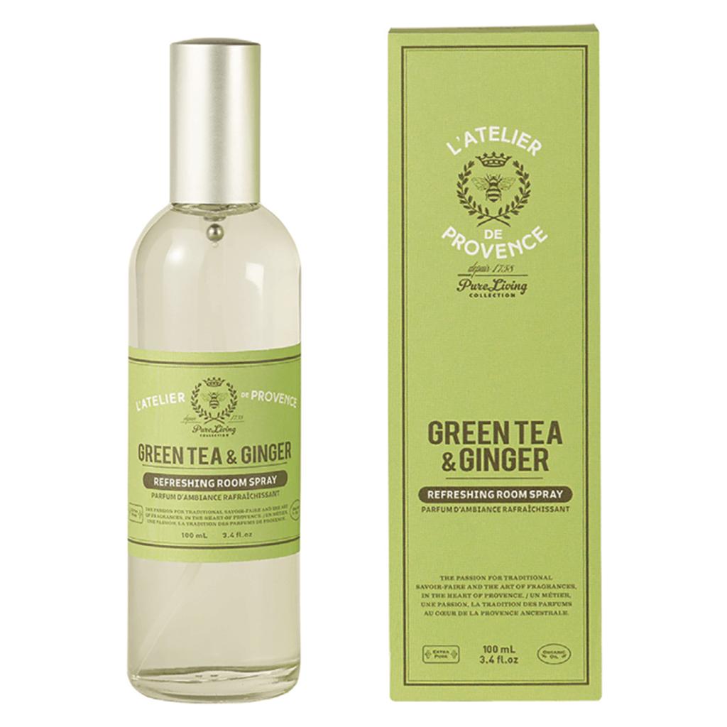 Atelier de Provence Parfum d'Ambiance 100ml Thé Vert & Gingembre