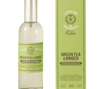 Parfum d'Ambiance 100ml Thé Vert & Gingembre