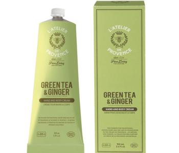 Crème à mains 100ml Thé Vert & Gingembre