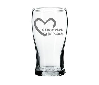 Verre à Bière Grand-Papa je t'aime