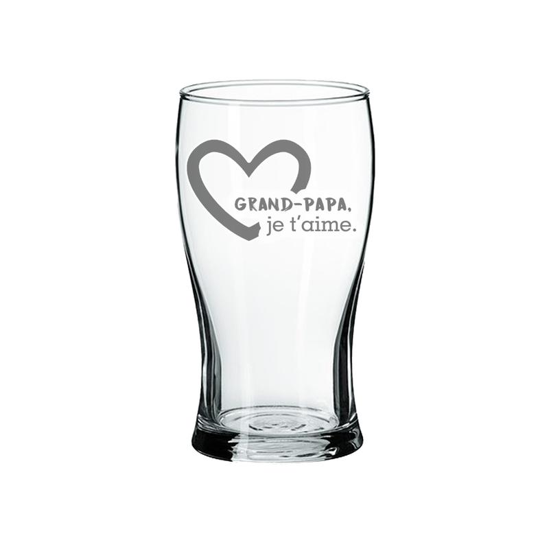 Maison du bar Verre à Bière Grand-Papa je t'aime