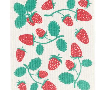 Ens. éponge suedoise Strawberries