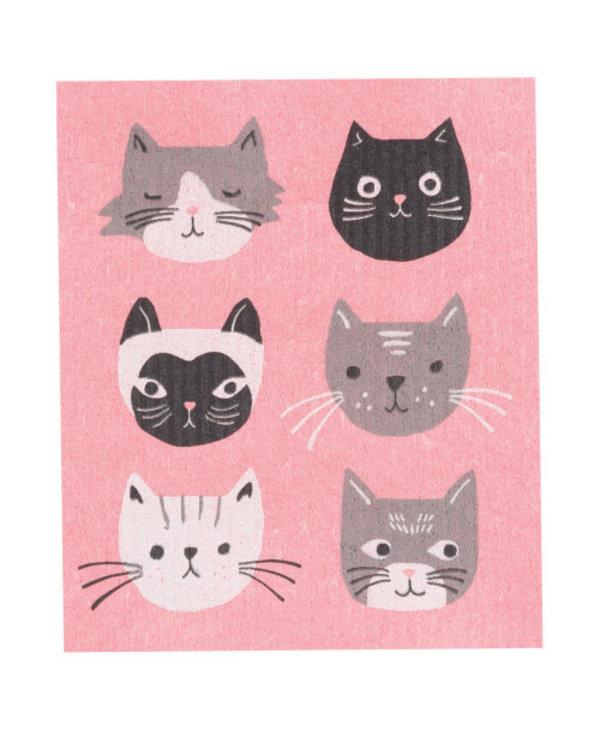 Ens. éponge suedoise Cats Meow
