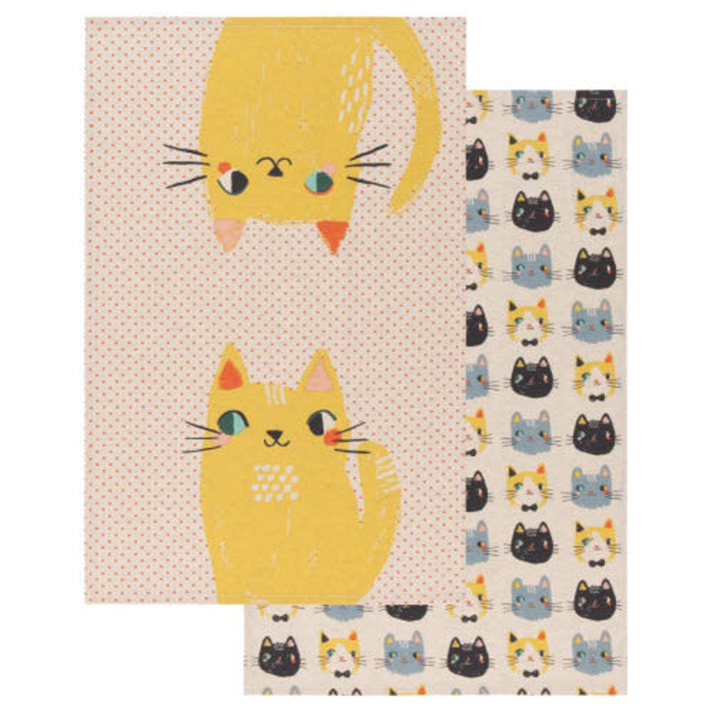 Danica Studio Linge à vaisselle Meow Meow