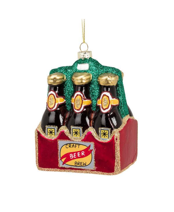 Ornement de Noel Boîte de 6 bières