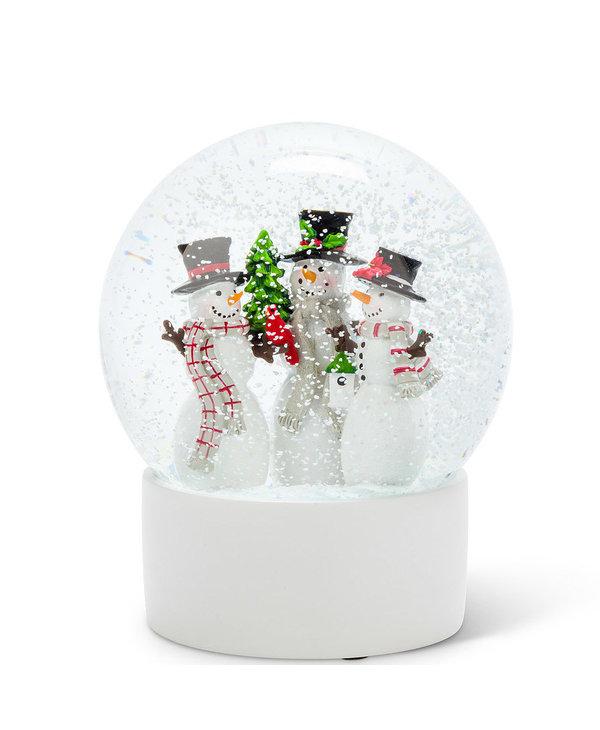 Boule de Noel bonhommes de neige