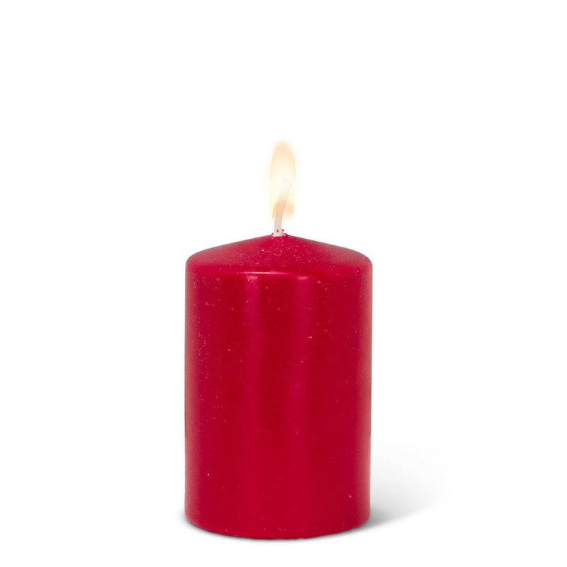 Abbott Petite Bougie écologique rouge