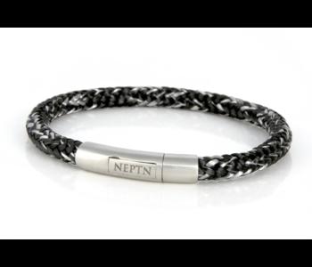 BRACELET NEPTN SAILOR Neptn Pro STEEL 6 R Salt-Pepper-Rope