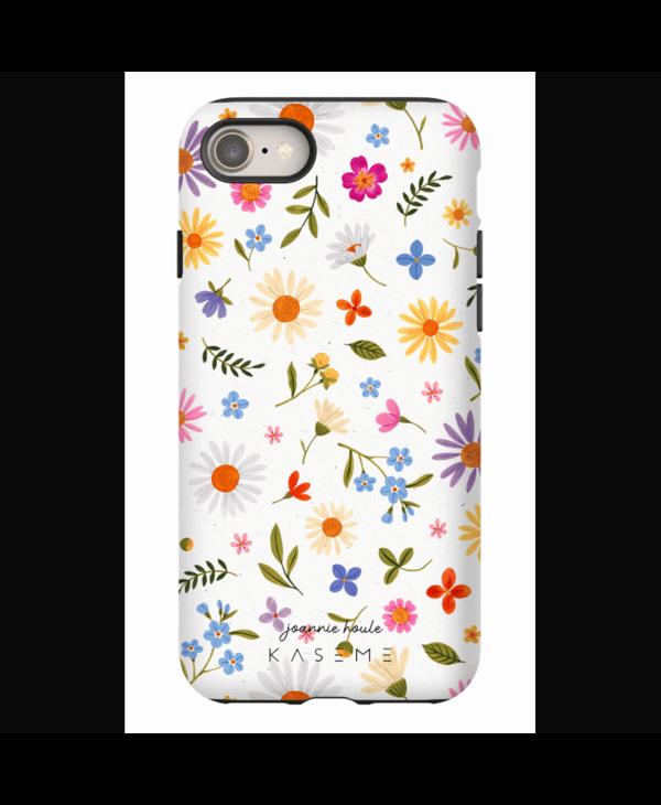 Étui kaseme iphone 7/8/Se  Flower confetti by Joannie Houle