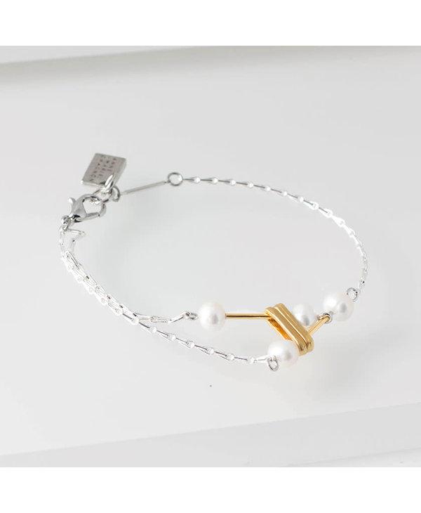 Bracelet Anne-Marie Chagnon Clarisse Or