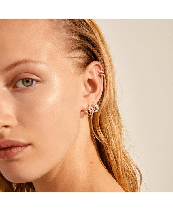 Boucles d'oreilles Native Beauty argent AH21