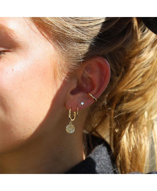 Boucles d'oreilles Nomad or AH21