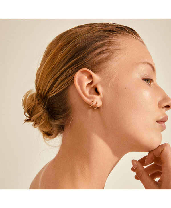 Boucles d'oreilles Morgan or AH21