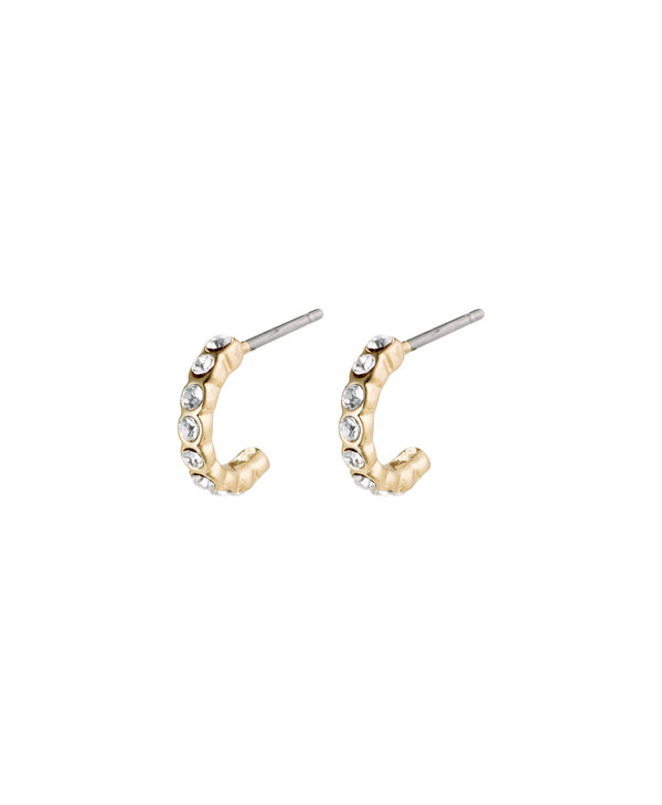 Boucles d'oreilles Brigitte Crystal or AH21