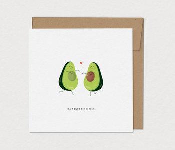 Carte de Souhaits Avocaduo