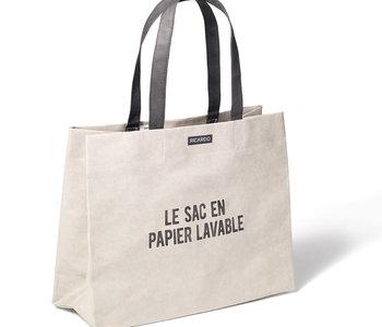 Sac en Papier Lavable  gris