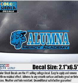 Color Shock Alum Jaguar - Decal