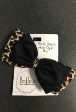 Jaguar Print Hairbow Clip