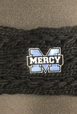 Mercy Black Woven Earband