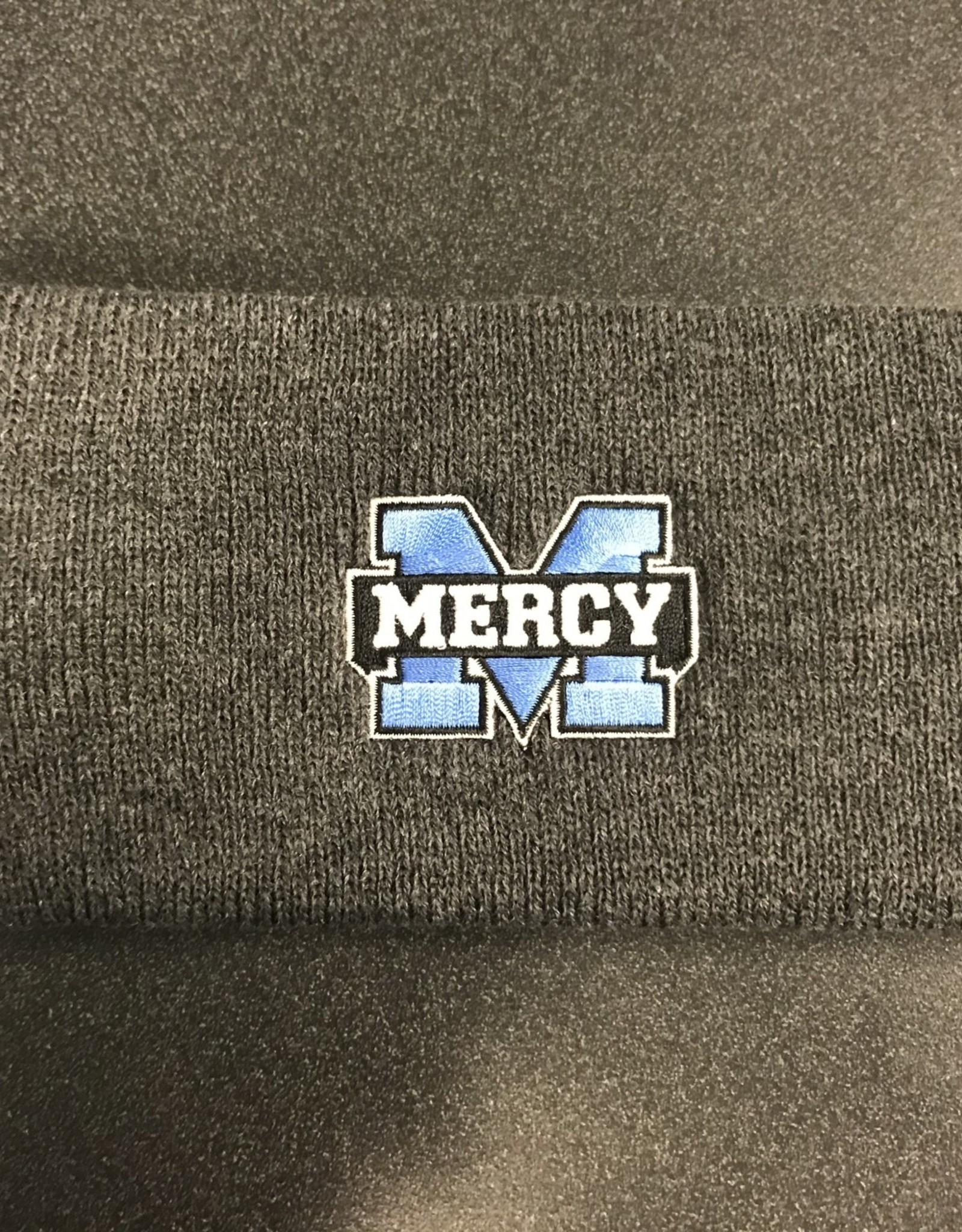 Mercy Earband Gray Knit
