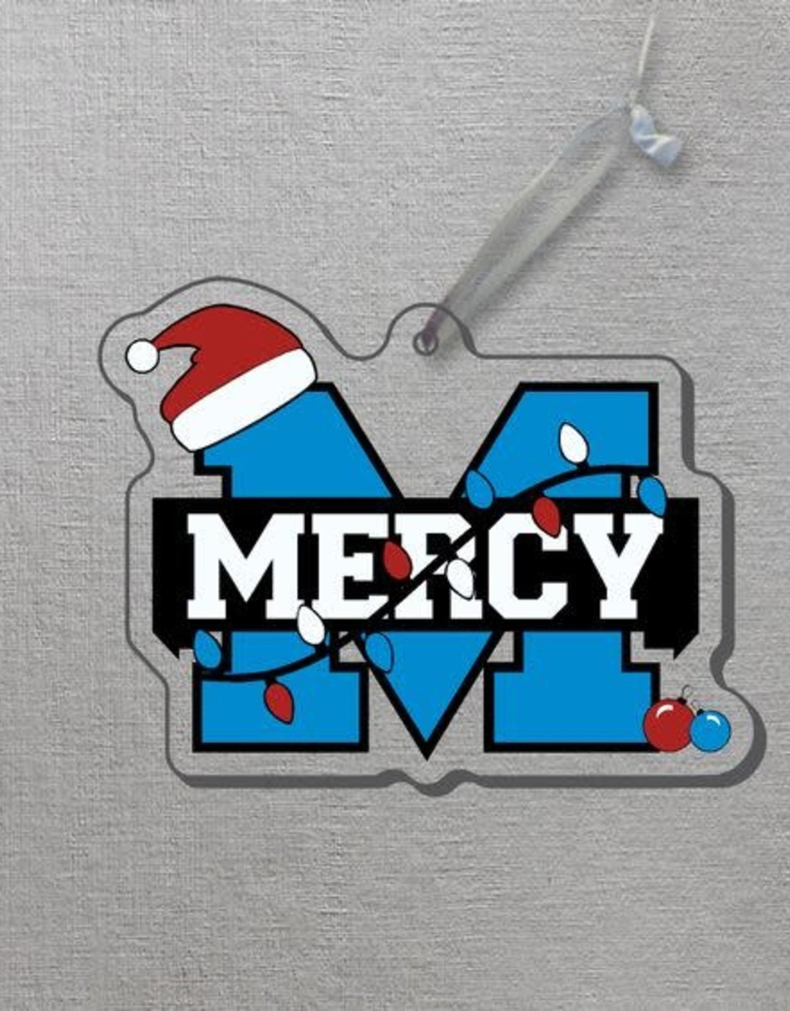 "CDI Corp Mercy ""M"" Lights Ornament"