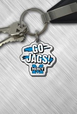 "CDI Corp Mercy ""Go Jags"" Keychain"